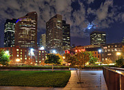 Night Scenes Photos - Boston Nights3 by Joann Vitali
