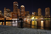 Boat Cruise Framed Prints - Boston Odyssey  Framed Print by Juergen Roth
