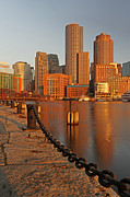 All Acrylic Prints - Boston One International Place  by Juergen Roth
