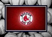 Outfield Framed Prints - Boston Red Sox Framed Print by Joe Hamilton