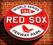 Boston Red Sox World Series Champions 1918 Print by Stephen Stookey