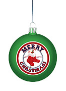 Boston Red Sox Posters - Boston Red Stockings On A green Ornament Poster by Nathanael Verrill