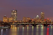 Charles River Photo Prints - Boston Redline Print by Juergen Roth