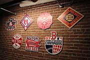 Redsox Prints - Boston Redsox Print by Simon Comeau