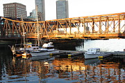 Boston Art - Boston Reflections by Shelia Kempf