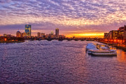 Charles River Art - Boston Sky by Joann Vitali