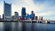 Boston Photo Metal Prints - Boston Skyline Metal Print by Alexander Voss