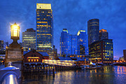 Joann Vitali - Boston Skyline and Tea Party Museum