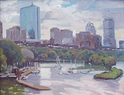 Dianne Panarelli Miller - Boston Skyline