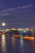 Joann Vitali - Boston Skyline from Memorial Drive