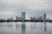 Joann Vitali - Boston Skyline on a Grey...