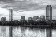 Charles River Framed Prints - Boston Skyline VI Framed Print by Clarence Holmes