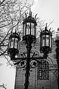 Boston Digital Art Metal Prints - Boston Streetlamp Metal Print by John Hoey