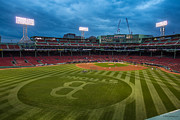 Fenway Park Photo Posters - Boston Strong Poster by Paul Treseler