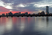 Beantown Prints - Boston Sunrise Print by Juergen Roth