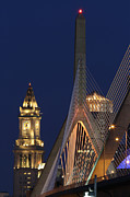 Zakim Framed Prints - Boston Tall and Strong Framed Print by Juergen Roth
