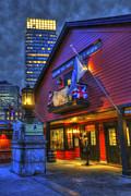 Joann Vitali - Boston Tea Party Museum at Night