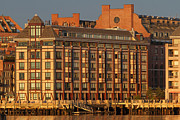 Boston Harbor Photos - Boston Wharf Luxury Apartments by Juergen Roth