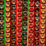 Brands Posters - Bottle Caps Poster by Art Blocks