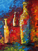 Rust Paintings - Bottled Dreams by Megan Duncanson
