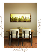 Holly Kempe Metal Prints - Bottled Light Wall Art Metal Print by Holly Kempe