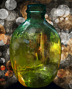 Chiaroscuro Digital Art - Bottled Up Sentiment by Kandy Hurley