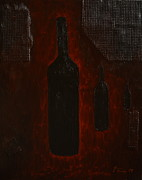 Marlow Prints - Bottles Print by Shawn Marlow