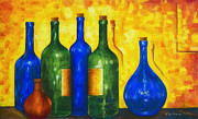Still Life Paintings - Bottless by Veikko Suikkanen