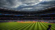 Bronx Bombers Framed Prints - Bottom Of The 1st Framed Print by Dima James