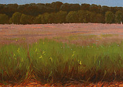 Floods Paintings - Bottomland by Dan McGrath