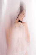 Wedding Photography Prints - Boudoir Photography 11. Impressionism. Exclusively For Faa Print by Jenny Rainbow