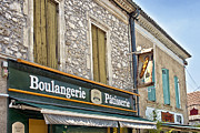 South West France Art - Boulangerie in Summer by Georgia Fowler