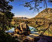 William Havle - Boulder At Fallen Leaf Lake