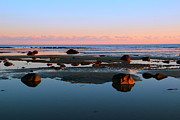 York Beach Metal Prints - Boulder Beach Metal Print by Andrea Galiffi