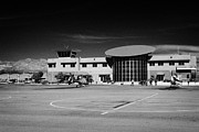 Airport Terminal Posters - boulder city airport terminal Nevada USA Poster by Joe Fox