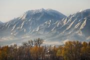 James BO  Insogna - Boulder Colorado Flatirons Country Fall View