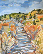 Boulder Creek Nederland Co Print by Al Hart