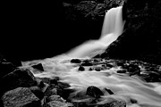 Steve Boice - Boulder Falls Black and...