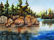 Earth Tone Originals - Boundary Waters by Lisa Fertig