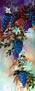 Zelma Hensel Prints - Bountiful Vines Print by Zelma Hensel