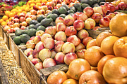 Farmstand Photo Metal Prints - Bounty Metal Print by Caitlyn  Grasso