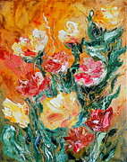 Bouquet Print by Teresa Wegrzyn