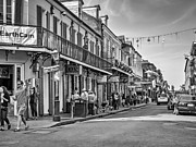 Steve Harrington - Bourbon Street Afternoon bw