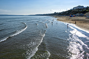 Bournemouth Beach Print by Svetlana Sewell