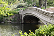 Central Park Photos - Bow Bridge IV by Christiane Schulze
