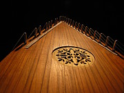 Greg Simmons Prints - Bowed Psaltery Print by Greg Simmons