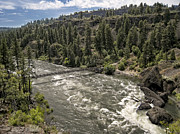 Spokane River Prints - BOWL and PITCHER AREA - RIVERSIDE STATE PARK - SPOKANE WASHINGTON Print by Daniel Hagerman