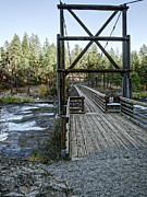 Civilian Photos - Bowl And Pitcher Bridge - Spokane Washington by Daniel Hagerman