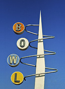 Retro Prints - Bowl Sign Print by Matthew Bamberg