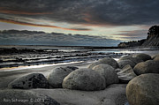 Central Coast Photos - Bowling Ball Beach by Ron Schwager